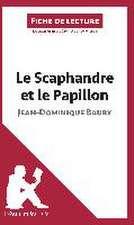Analyse : Le Scaphandre et le Papillon de Jean-Dominique Bauby  (analyse complète de l'oeuvre et résumé)
