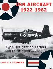 USN Aircraft 1922-1962:  Type Designation Letters 'Bf', 'Bt' & 'f' (Part One)
