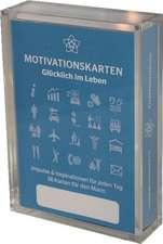 Glücklich im Leben - Motivationskartenset für Männer als positive Impulsgeber zur Selbstfindung und Inspiration