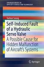 Self-Induced Fault of a Hydraulic Servo Valve