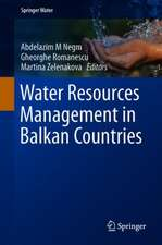 Water Resources Management in Balkan Countries