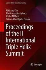 Proceedings of the II International Triple Helix Summit