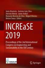 INCREaSE 2019: Proceedings of the 2nd International Congress on Engineering and Sustainability in the XXI Century