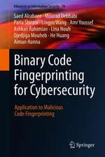 Binary Code Fingerprinting for Cybersecurity