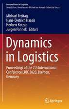 Dynamics in Logistics: Proceedings of the 7th International Conference LDIC 2020, Bremen, Germany