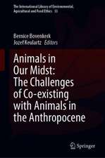 Animals in Our Midst: The Challenges of Co-existing with Animals in the Anthropocene