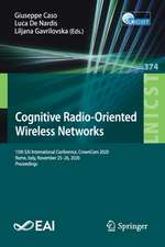Cognitive Radio-Oriented Wireless Networks
