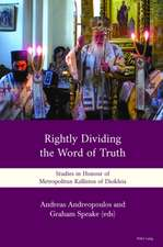 'Rightly Dividing the Word of Truth'