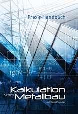 Kalkulation für den Metallbau