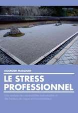 Le Stress Professionnel:  Une Analyse Des Vulnerabilites Individuelles Et Des Facteurs de Risque Environnementaux