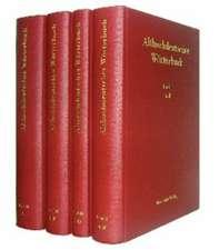 Althochdeutsches Wörterbuch, Band II: C-D