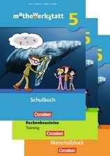 mathewerkstatt 5. Schuljahr. Schülerbuch mit Rechenbausteine-Training und Materialblock. Mittlerer Schulabschluss