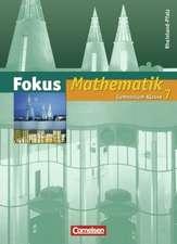 Fokus Mathematik. Gymnasium Rheinland-Pfalz. 7. Schuljahr. Schülerbuch