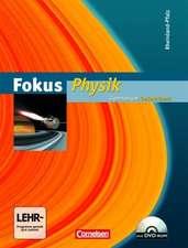 Fokus Physik Gesamtband. Schülerbuch mit CD-ROM. Gymnasium Rheinland-Pfalz
