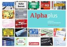 Alpha plus A1. Kursbuch mit MP3 und CDs. Ausgabe 2011/12