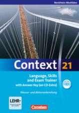 Context 21. Workbook mit Lösungsschlüssel und CD-ROM. Nordrhein-Westfalen