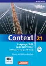 Context 21. Workbook mit Lösungsschlüssel und CD-ROM. Sachsen-Anhalt