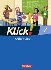 Klick! Mathematik 7. Schuljahr. Schülerbuch. Östliche und westliche Bundesländer