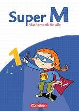 Super M 1. Schuljahr. Schülerbuch mit Kartonbeilagen