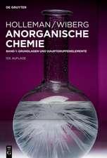 Holleman/Wiberg Anorganische Chemie
