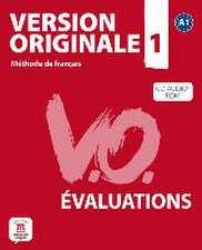 Version originale. Les évaluations (A1). Livre + CD-ROM audio