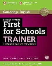 First for Schools Trainer for the revised exam