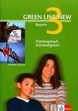 Green Line New 3. Trainingsbuch Schulaufgaben, Heft mit Audio-CD. Bayern