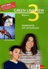 Green Line New 3. Workbook mit CD-ROM. Bayern