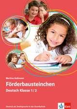 Förderbausteinchen Deutsch Klasse 1/2