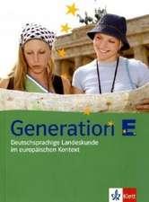 Generation E. Lehr- und Übungsbuch