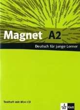 Magnet A2, Testheft mit Mini-CD: Deutsch fuer junge Lerner