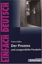 Der Prozess. EinFach Deutsch Textausgaben