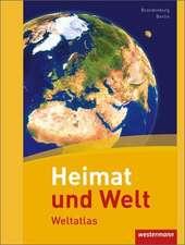 Heimat und Welt Weltatlas. Berlin, Brandenburg