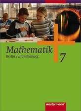 Mathematik 7. Schülerband. Sekundarstufe 1. Berlin