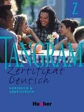 Tangram Z. Kursbuch und Arbeitsbuch