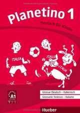 Planetino 1. Glossar Deutsch-Italienisch - Glossario Tedesco - Italiano