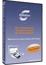 MemoStep6 - der multimediale Vokabeltrainer für Anspruchsvolle