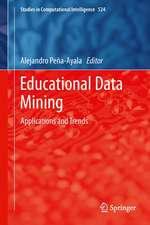 Educational Data Mining: Applications and Trends
