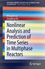 Nonlinear Analysis and Prediction of Time Series in Multiphase Reactors