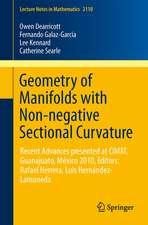 Geometry of Manifolds with Non-negative Sectional Curvature: Editors: Rafael Herrera, Luis Hernández-Lamoneda