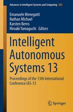 Intelligent Autonomous Systems 13: Proceedings of the 13th International Conference IAS-13