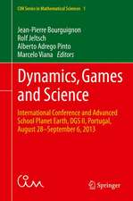 Dynamics, Games and Science: International Conference and Advanced School Planet Earth, DGS II, Portugal, August 28–September 6, 2013