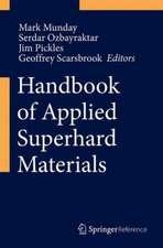 Handbook of Applied Superhard Materials
