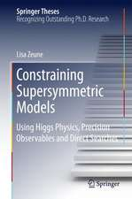Constraining Supersymmetric Models : Using Higgs Physics, Precision Observables and Direct Searches