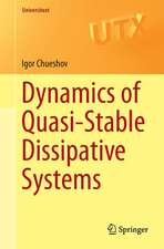 Dynamics of Quasi-Stable Dissipative Systems