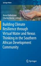 Building Climate Resilience through Virtual Water and Nexus Thinking in the Southern African Development Community