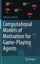 Computational Models of Motivation for Game-Playing Agents