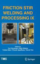 Friction Stir Welding and Processing IX