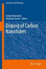 Doping of Carbon Nanotubes