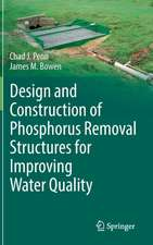 Design and Construction of Phosphorus Removal Structures for Improving Water Quality